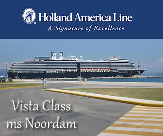 Holland America added the ms Noordam to the Alaska itinerary for 2015.